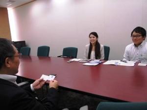 Kimuraさんと、Claremont大学院大学心理学博士課程Kikuta氏