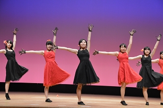 H28 新入生歓迎の集い ジャズダンス