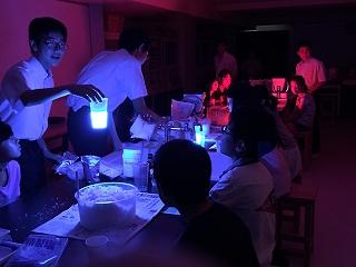 光りオモシロ実験
